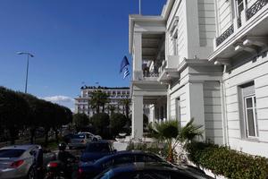 Το ΥΠΕΞ απαντά για το πανό Αλβανών οπαδών: Προκλητική και θρασύτατη ενέργεια