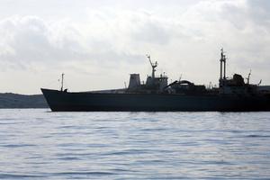 Ακυβέρνητο φορτηγό πλοίο ανοιχτά της Κέας