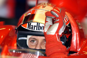 Οι φίλοι της Ferrari στο πλευρό του Σουμάχερ