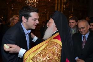 Με τον Οικουμενικό Πατριάρχη συναντάται ο Τσίπρας