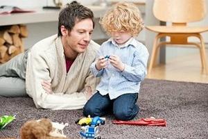Η συμπεριφορά των παιδιών επηρεάζεται από τους πατεράδες