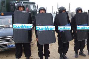 Twitter μέσω Google στην Αίγυπτο