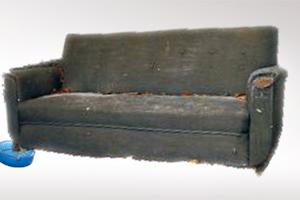 Ο καναπές και το παλιό τασάκι