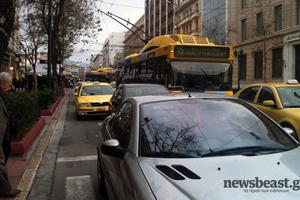 Αυξημένη κίνηση αυτή την ώρα στην Αθήνα