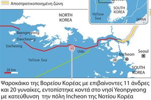Ανεβαίνει το θερμόμετρο στην κορεατική χερσόνησο