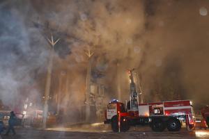 Στις φλόγες αποθήκη με πυρομαχικά στη Ρωσία