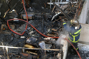 Ένας νεκρός από την πυρκαγιά στη Θεσσαλονίκη