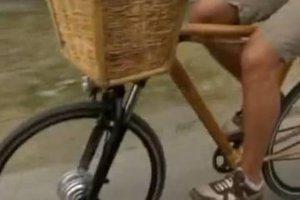 Ορθοπεταλιές με ποδήλατα μπαμπού
