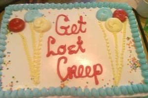 Πείτε χωρίζω με ένα cake!