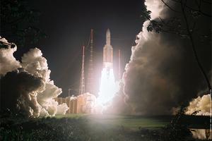 Με επιτυχία η εκτόξευση του πυραύλου Αριάν