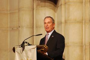 Ο δήμαρχος της Νέας Υόρκης προσφέρει δωρεά-ρεκόρ