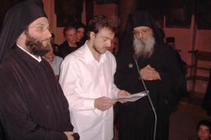 O ηθοποιός που έγινε μοναχός