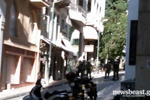 Κλεφτοπόλεμος στους δρόμους της Αθήνας