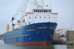 Προσάραξη φορτηγού πλοίου στο Ναύπλιο