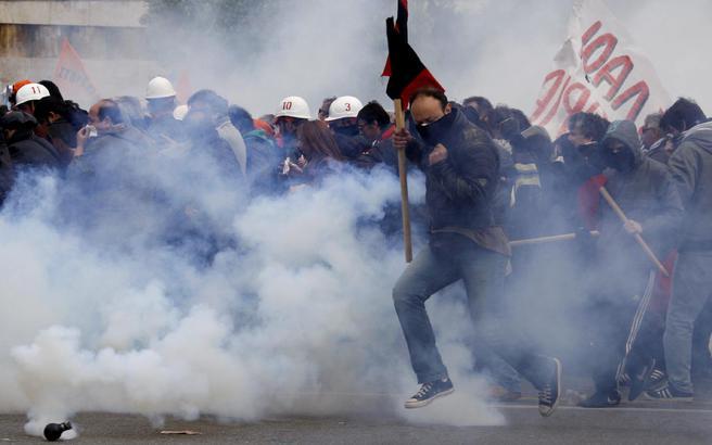 «Στους δρόμους 35.000 διαδηλωτές»