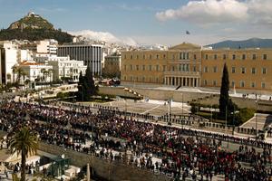 «Αστακός» το κέντρο της Αθήνας