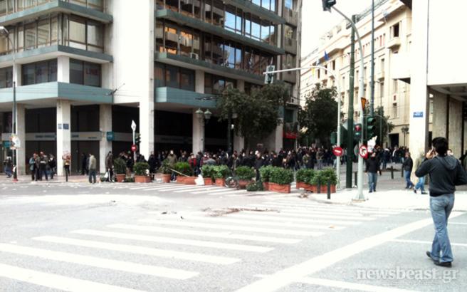 Οδοφράγματα στους δρόμους της Αθήνας