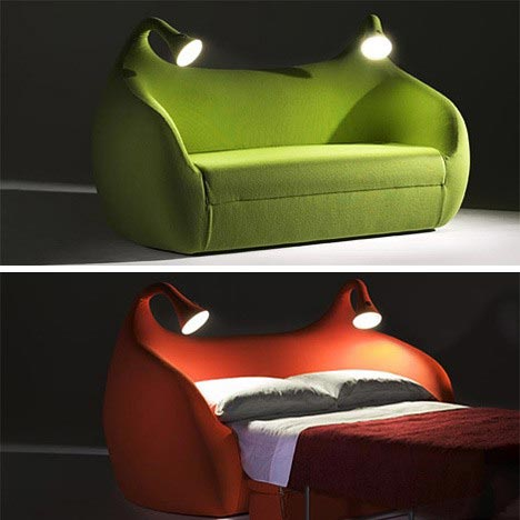 Cool Couch Bed With Lights
