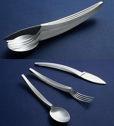 Cool Spoon Knife Fork Set
