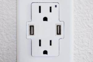 Πρίζα τοίχου για USB