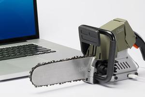 Αλυσοπρίονο με βύσμα... USB