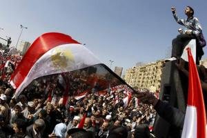 «Λαοπλημμύρα» στην πλατεία Ταχρίρ