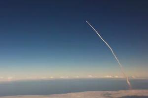 H θέα πάνω σε ένα διαστημόπλοιο