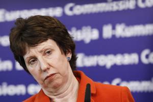 Στην Ουκρανία σήμερα η Κάθριν Άστον