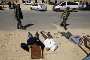 Βομβαρδίζει τη Ζιντάν ο Καντάφι