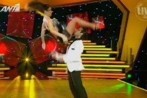 Μικροατύχημα στο «Dancing with the Stars»