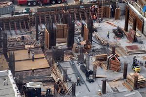 Αύξηση 8,3% του όγκου της ιδιωτικής οικοδομικής δραστηριότητας τον Φεβρουάριο