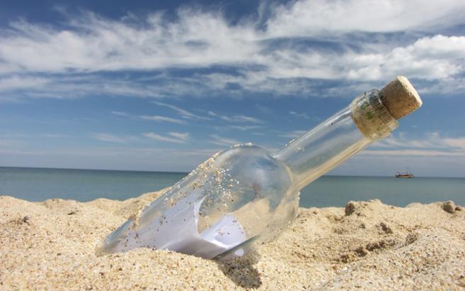 Το μπουκάλι από τη Ρόδο που ταξίδεψε στη Μεσόγειο και έφτασε στα δίχτυα ψαρά στη Γάζα