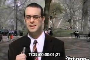 Δημοσιογράφος χάνει τον έλεγχο μπροστά στην κάμερα