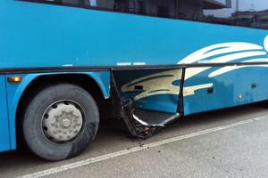 Τροχαίο με λεωφορείο στην εθνική Ιωαννίνων-Αθηνών