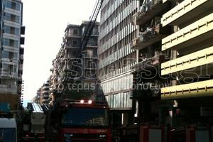 Εγκλωβισμένοι στο φλεγόμενο ξενοδοχείο