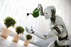 Ρομπότ σε ρόλο οικιακής βοηθού!