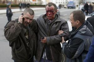 Επτά νεκροί και τουλάχιστον 50 τραυματίες στο Μινσκ