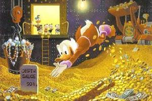 Ο πιο πλούσιος ήρωας κόμικ είναι ο Σκρουτζ Μακ Ντακ