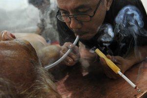 «Ιερά τσιγάρα» κατά του καρκίνου