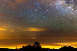Γαλαξίας σε γρήγορη κίνηση
