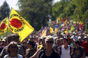 Μεγάλες διαδηλώσεις για τα πυρηνικά στη Γερμανία