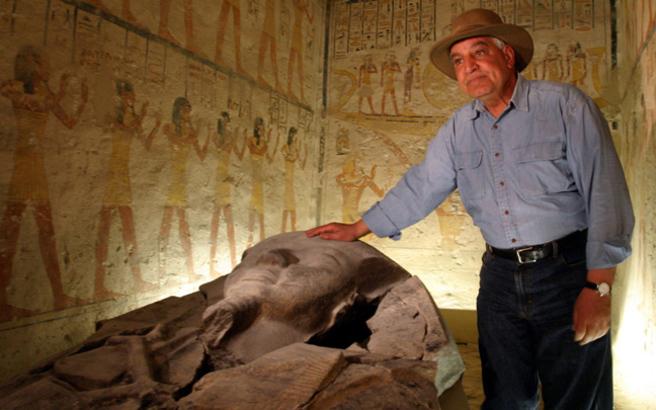 Ο «Ιντιάνα Τζόουνς» της Αιγύπτου