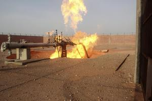 Έκρηξη κατέστρεψε αγωγό φυσικού αερίου στην Αίγυπτο