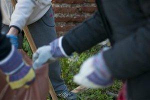 Mαθητές καθάρισαν την Τούμπα