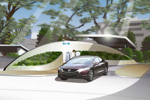 Ηλιακός σταθμός παραγωγής υδρογόνου από τη Honda
