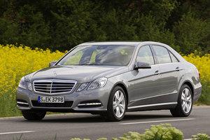 Aνανέωση στους κινητήρες της Mercedes E-Class