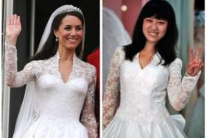 Κινεζική φρενίτιδα για το «βασιλικό» νυφικό