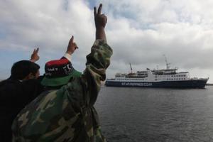 Πλοίο με 1.138 μετανάστες ελλιμενίστηκε στη Βεγγάζη