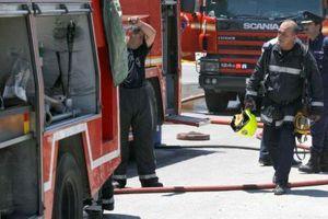 Υπό έλεγχο η φωτιά σε εργοστάσιο στην Κομοτηνή