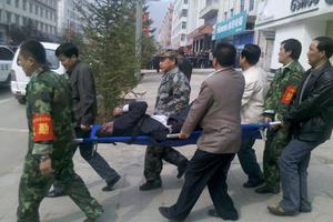 Έκρηξη σε τράπεζα σκορπά τον τρόμο στην Κίνα